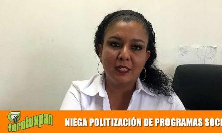 NIEGA POLITIZACIÓN DE PROGRAMAS SOCIALES