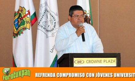 REFRENDA COMPROMISO CON JÓVENES UNIVERSITARIOS