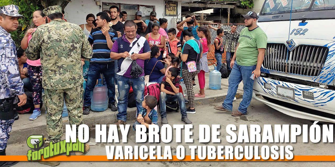 MIENTE GOBERNADOR DE TAMAULIPAS, EN VERACRUZ NO HAY BROTE DE SARAMPIÓN, VARICELA NI TUBERCULOSIS
