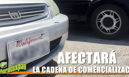 AUTOS CHOCOLATE AFECTARÁN LA COMERCIALIZACIÓN DE AUTOS NUEVOS