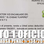 EDICTO OFICIO 639 CAUSA PENAL 134/2017