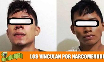 Los vinculan a proceso por narcomenudeo y ultrajes, en Tuxpan