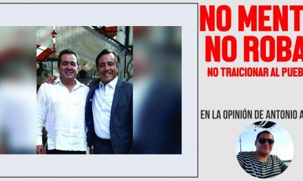 NO MENTIR, NO ROBAR, NO TRAICIONAR AL PUEBLO…