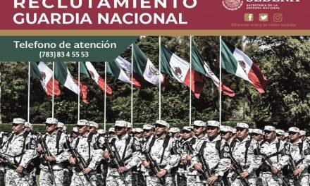 Reclutamiento de la Guardia Nacional