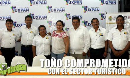 TOÑO COMPROMETIDO CON EL SECTOR TURÍSTICO