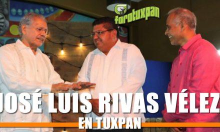José Luis Rivas Vélez en Tuxpan