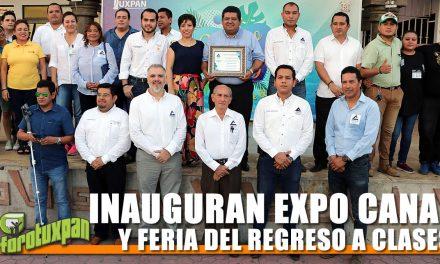 INAUGURAN EXPO CANACO Y FERIA DEL REGRESO A CLASES