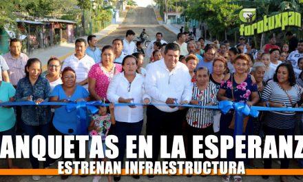 Más Infraestructura en la colonia Esperanza Azcón