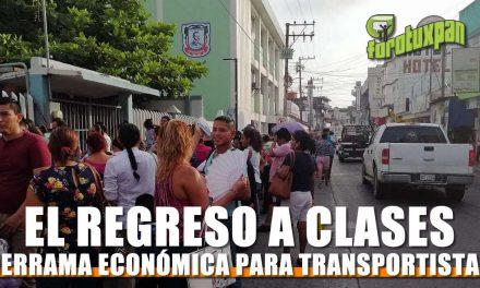 El regreso a clases… más que caos vial es una derrama económica para transportistas