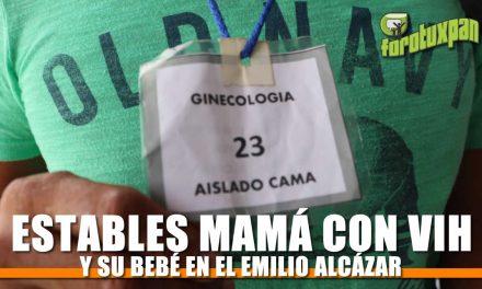 Estables mamá con VIH y bebé en el Emilio Alcázar