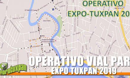 OPERATIVO VIAL PARA EXPO TUXPAN 2019