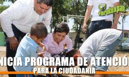 INICIA PROGRAMA DE ATENCIÓN CIUDADANA EN TU COMUNIDAD