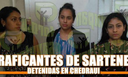 Traficantes de Sartenes Detenidas en Chedraui