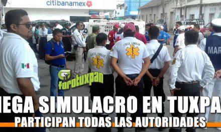 Mega Simulacro organizado por Todas las Autoridades