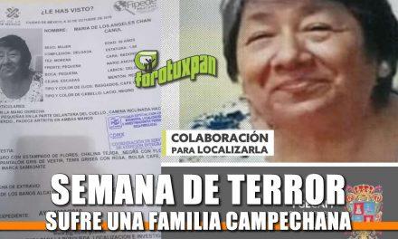 Semana de Terror sufre una familia Campechana