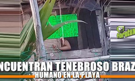 ENCUENTRAN TENEBROSO BRAZO HUMANO EN LA PLAYA