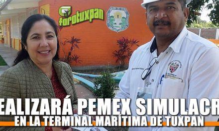 Realizará Pemex simulacro en la Terminal Marítima de Tuxpan