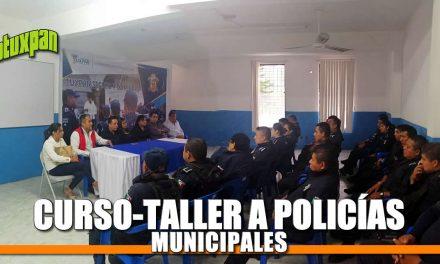 Curso-taller a policías municipales