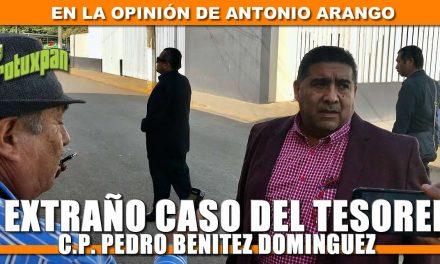 El Extraño Caso del Tesorero Pedro Benitez