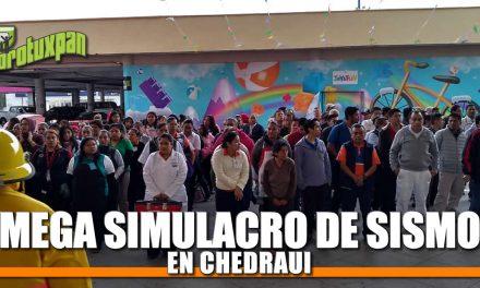 MEGASIMULACRO de Sismo en Chedraui