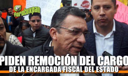 Piden Remoción del Cargo de la Encargada Fiscal del estado