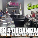 Cumplen 4 organizaciones con solicitud de registro para conformar nuevos partidos POLÍTICOS
