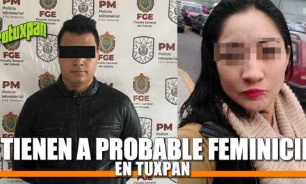 Detienen en Tuxpan a posible feminicida de Puebla