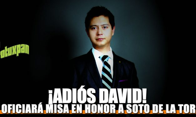 ¡ADIÓS DAVID!