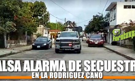 Falsa Alarma de secuestro en la Rodríguez Cano