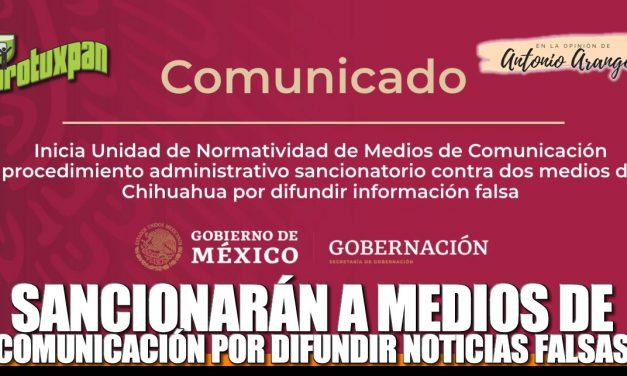Sancionaran a MEDIOS DE COMUNICACIÓN por difundir noticias falsas