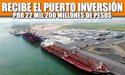 EL PUERTO DE TUXPAN RECIBIRÁ INVERSIÓN PRIVADA POR 22 MIL 260 MILLONES DE PESOS