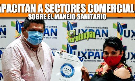 CONTINÚA AYUNTAMIENTO CON LA CAPACITACIÓN DE SECTORES COMERCIALES PARA EL MANEJO SANITARIO