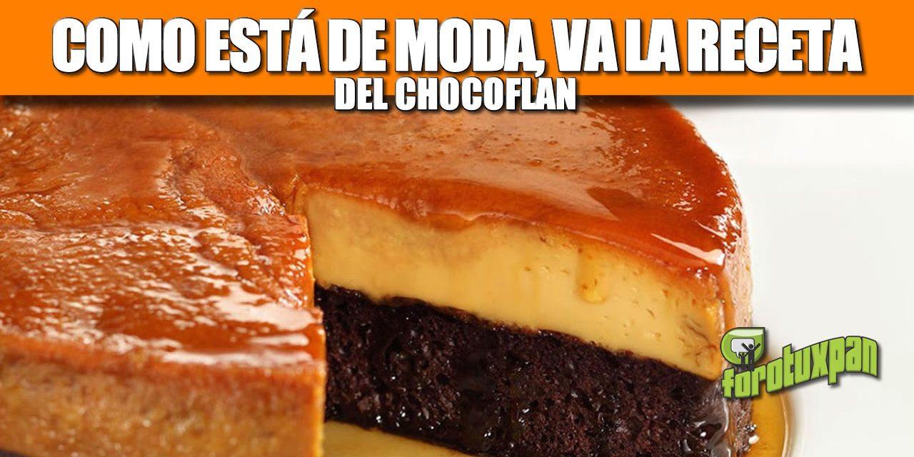 Chocoflan (receta imposible)