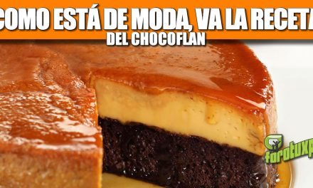 Chocoflan (receta imposible)