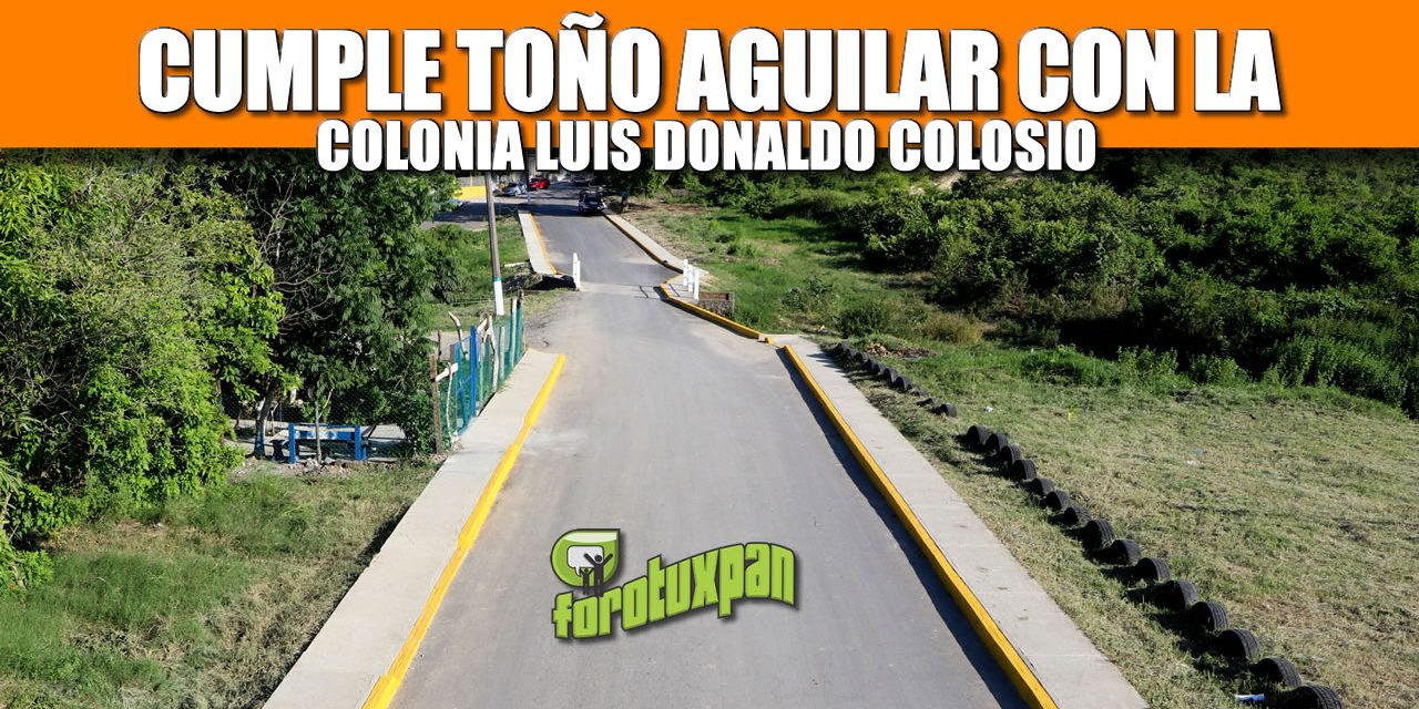 CUMPLE TOÑO AGUILAR CON LA COLONIA LUIS DONALDO COLOSIO