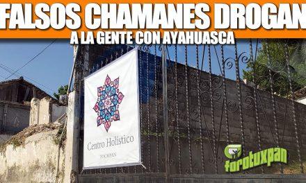 FALSOS CHAMANES DROGAN A LA GENTE CON AYAHUASCA