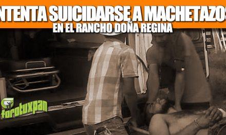 INTENTA SUICIDARSE A MACHETAZOS