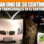 LE SACAN UNO DE 30 CENTÍMETROS A TRANSEXUALES EN EL CENTRO