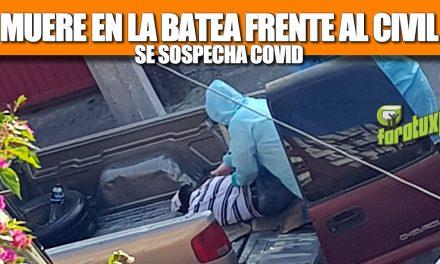 Muere en la Batea frente al Emilio Alcázar: Se sospecha COVID