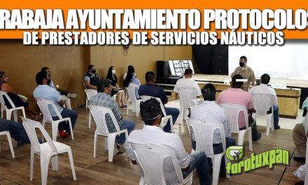 TRABAJA AYUNTAMIENTO PROTOCOLOS DE PRESTADORES DE SERVICIOS NÁUTICOS