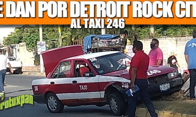 LE DAN POR DETROIT ROCK CITY AL TAXI 246