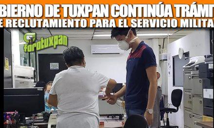 GOBIERNO DE TUXPAN CONTINÚA TRÁMITES DE RECLUTAMIENTO PARA EL SERVICIO MILITAR