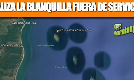 BALIZA LA BLANQUILLA FUERA DE SERVICIO