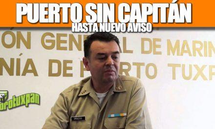 PUERTO SIN CAPITÁN HASTA NUEVO AVISO