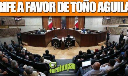 TRIFE a favor de Toño Aguilar
