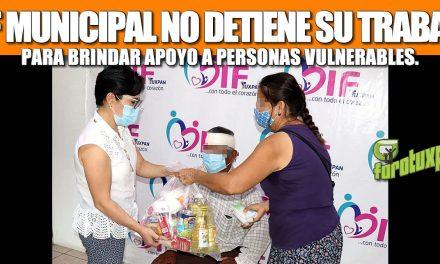 DIF MUNICIPAL NO DETIENE SU TRABAJO PARA BRINDAR APOYO A PERSONAS VULNERABLES.