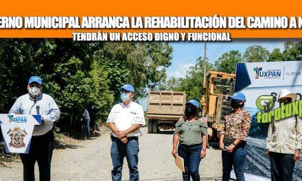 GOBIERNO MUNICIPAL ARRANCA LA REHABILITACIÓN DEL CAMINO A NALÚA; TENDRÁN UN ACCESO DIGNO Y FUNCIONAL