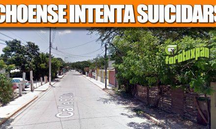 Ochoense intenta SUICIDARSE