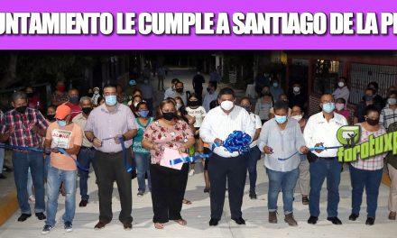 AYUNTAMIENTO LE CUMPLE A SANTIAGO DE LA PEÑA