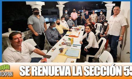 SE RENUEVA LA SECCIÓN 55